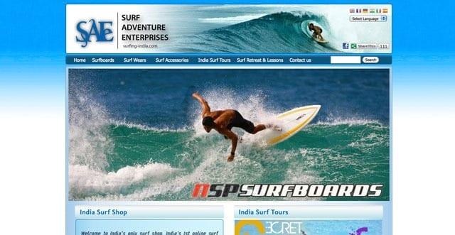 India's online surf shop